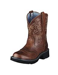 Ariat Fatbaby Boots Womens Western Cowboy Saddle Russet Rebel 10000860