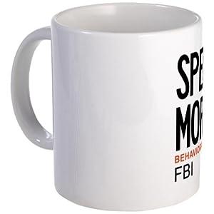 CafePress Special Agent Morgan Criminal Minds Mug