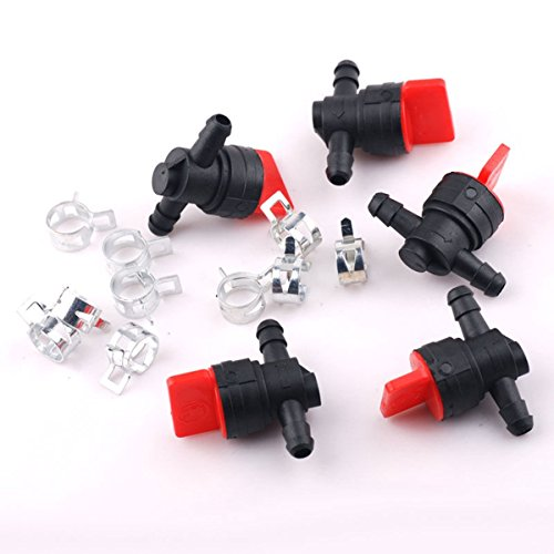 US Shipping 5PCs Briggs Stratton 14 In Line Straight Gas Fuel Shut Offcut Off Valves Our (Yugo Sks Parts compare prices)