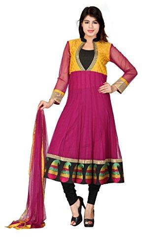 Lifestyle Lifestyle Retail Women Net Anarkali (Multicolor)