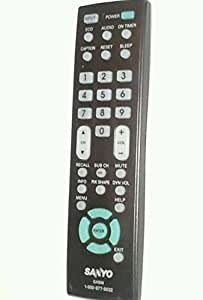 Sanyo LCD Plasma HDTV TV Remote Control GXBM Supplied with models: DP32640 DP42740 DP42841 DP46841 DP50741