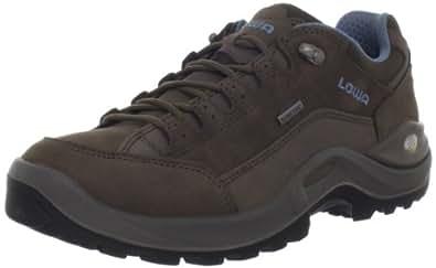 LOwa Women's Renegade ll GTX LO WS Hiking Shoe,Brown/Denim,5.5 M US