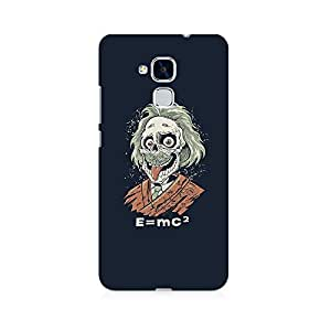 Ebby Skully Einstein Premium Printed Case For Huawei Honor 5c