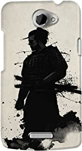 DailyObjects Samurai Case For HTC One X (Back Cover)