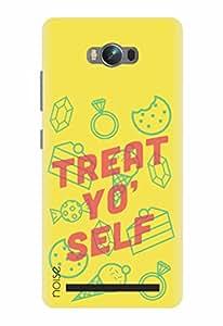 Noise Designer Phone Case / Cover for Asus Zenfone Max Zc550Kl / Graffiti & Illustrations / Treat Yo Self - Multicolor