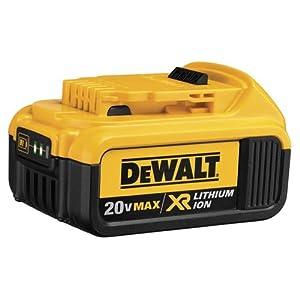 DEWALT DCB204 20V Max Premium XR Li-Ion Battery Pack