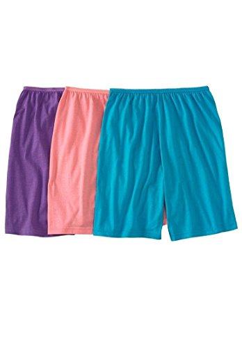 43f91d55764 Comfort Choice Women s Plus Size 3-Pack Cotton Boxer Briefs - Import ...