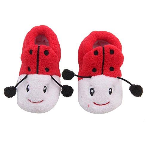 Ladybug Baby Shoes front-641245
