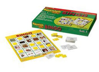 Spanish in a Flash Bingo Game Set 1
