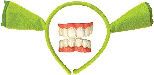Child Shrek Ears and Teeth