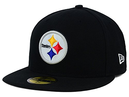 NFL Mens Pittsburgh Steelers On Field 5950 Game Cap By Era at Steeler Mania