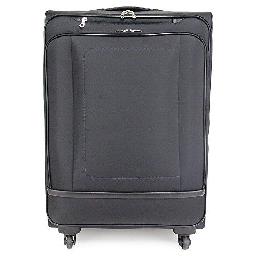 (ピジョール) PUJOLS 4輪トローリーケース/スーツケース/キャリーバッグ 70L レオ 45783 (ブラック(01))