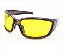 Yellow Sunglasses for Night Driving, Night Riding, Cycling and Motorcycle Riding.