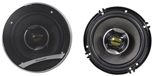 "Brand New Pioneer D Series Ts-D1602R 6.5"" 520 Watt Peak / 120 Watt (Pair) 2 Way Coaxial Car Speakers With Dual Layer Imx Aramid/Basalt Fiber Composite Cone"