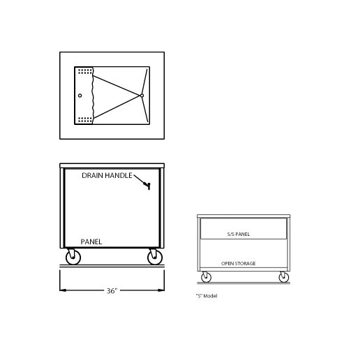 Counter Depth Refrigerator Dimensions front-252180