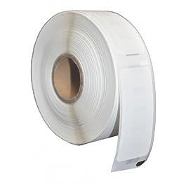 1 x Dymo / Seiko 99017 Rouleau Étiquettes d'adressage compatibles (220 Étiquettes par Rouleau), S0722460