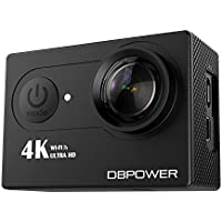 DBPower Q3H 4K Wi-Fi Waterproof Sport Action Camera