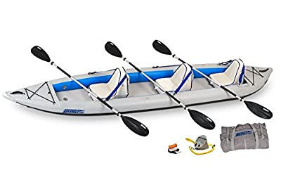 465FTK_D Sea Eagle 465 FastTrack Inflatable Kayak Deluxe Package by SeaEagle