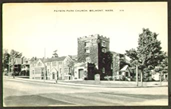 Payson Park Church Belmont Ma Postcard 1930s At Amazon S
