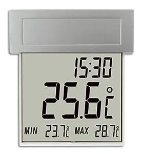 Solar Powered Vision Window Thermometer - Current, minimum & maximum temperature