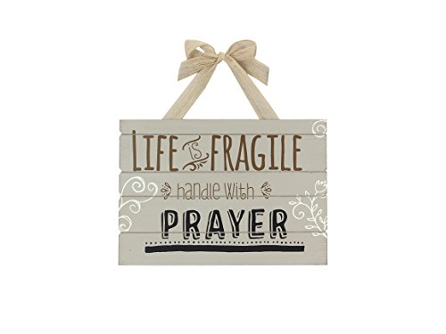 Young's Wood Prayer Wall Decorative Sign, 13