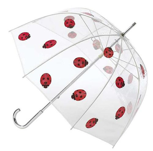"Children's Wholesale 34"" Clear Dome Rain Umbrellas - saraglove.com"