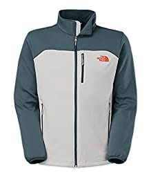 The North Face - Men\'s Momentum Jacket - High Rise Grey / Conquer Blue-D4G - Small
