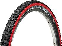 Panaracer Fire XC Pro Bicycle Tire (Aramid Bead Folding, 26x2.1, Black/Red)