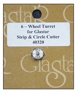 Circle/Strip Turret Wheel (Glastar Circle Strip Cutter compare prices)