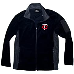 Minnesota Twins Micro Fleece Jacket with MP3 Pocket (X-Large) by G-III