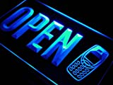 ADV PRO j762-b OPEN Mobile Phone Repairs Shop Neon Light Sign