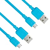EZOPower 2-Pack Micro-USB 2in1 Sync & Charge Cable (10Ft + 6Ft ) for Acer ICONIA B1-A71, ICONIA TAB A110 ; Asus MeMO Pad Smart 10 ME301T, Memo Pad ME172V, VivoTab Smart ME400 Tablet Cellphone and more
