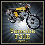 Yamaha FS1E Fizzy Motorcycle Acrylic Drinks Coaster