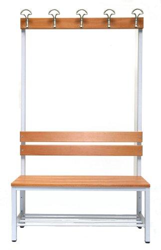 Garderoberückwand (1-seitig) + 1 x Sitzbank,...