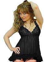 Yummy Bee Lingerie Babydoll Dress Lace Set Plus Size 8 - 28