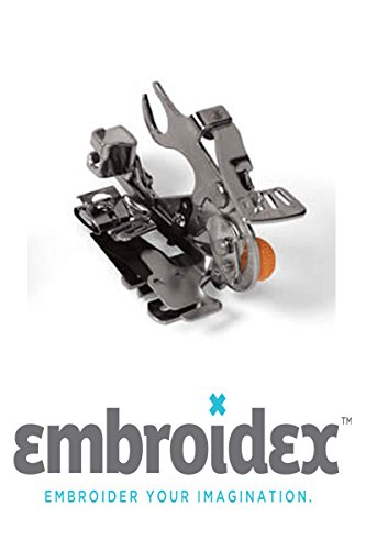 Cheapest Price! Embroidex Ruffler Sewing Machine Foot for Low Shank Brother Brother, Babylock, Singe...