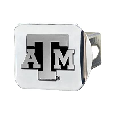 FANMATS NCAA Texas A&M University Aggies Chrome Hitch Cover