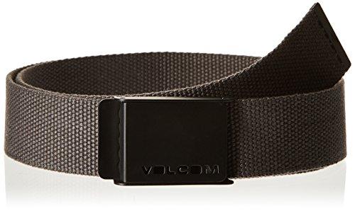 Volcom Volcom Web-Cintura da uomo, colore: grigio asfalto