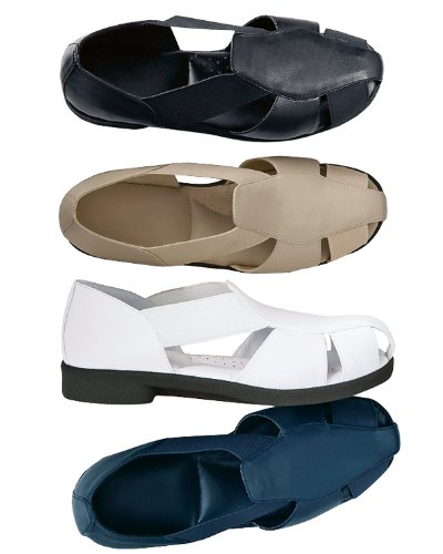 National Fisherman Sandal, Navy, 7 Wide front-668570