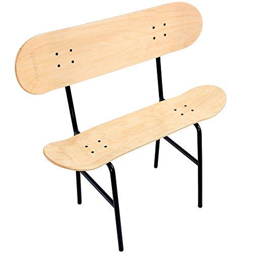 Bauhutte (バウヒュッテ) インテリアスケートボード ダブルデッキベンチ BIS-02