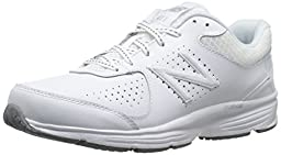 New Balance Women\'s WW411WT2 Walking Shoe, White, 8.5 B US