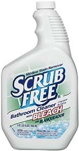 Scrub Free Mildew Remover With Bleach 32 Oz