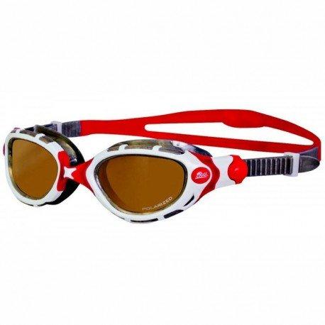 Zoggs Predator Flex Polarized Ultra White - Gafas de natación