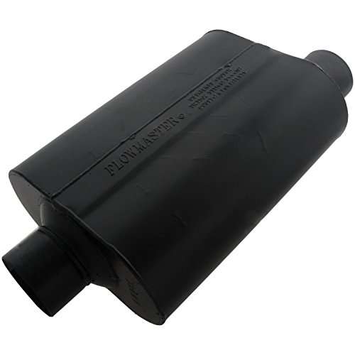 Flowmaster 953047 Super 40 Muffler - 3.00 Center IN / 3.00 Offset OUT - Aggressive Sound 1500 Flowmaster Muffler