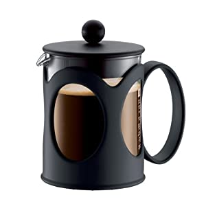 Bodum New Kenya 17-Ounce Coffee Press, Black