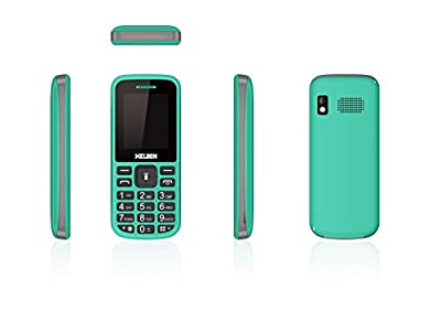 Melbon Dude 02-Green Dual Sim GSM with Multimedia Camera Mobile Phone