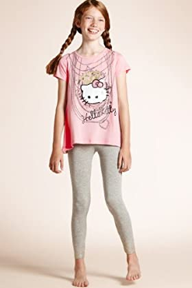 Older Girls' Hello Kitty Necklace Pyjamas