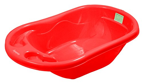 sunbaby splash bath tub red available at amazon for. Black Bedroom Furniture Sets. Home Design Ideas