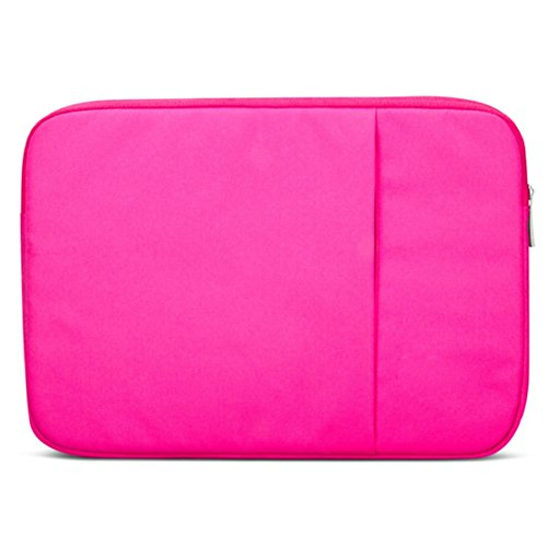 Towallmark(Tm)Notebook Laptop Sleeve Case Carry Bag Pouch For Macbook Air 11.6 Inch (Hot Pink)