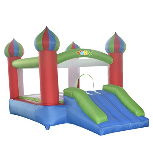 Yard Inflatable Residential Jumping Castle Obstacle Course Bounce House without Blower